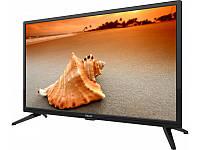 Телевизор AKAI UA24LEZ1T2 (24 дюйма, LED экран, 1366x768, USB 2.0, DVB-T2) | телевізор (Гарантия 12 мес)