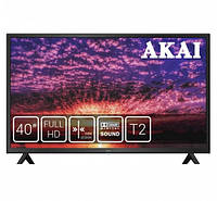 "Телевизор AKAI UA40DM2500T2 (40"", LED экран, 1920х1080, USB 2.0, DVB-T2) | телевізор (Гарантия 12 мес)"