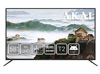 "Телевизор AKAI UA58LENSUHD (58"", LED экран, 4K, 3840x2160, Dolby Digital) | телевізор (Гарантия 12 мес)"
