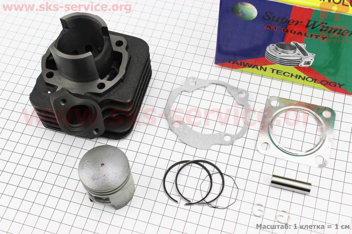 Циліндр к-кт (цпг) Honda TACT AF09/AF16 50cc-41мм (палець 10мм, кріплення глушника 47мм) на скутер