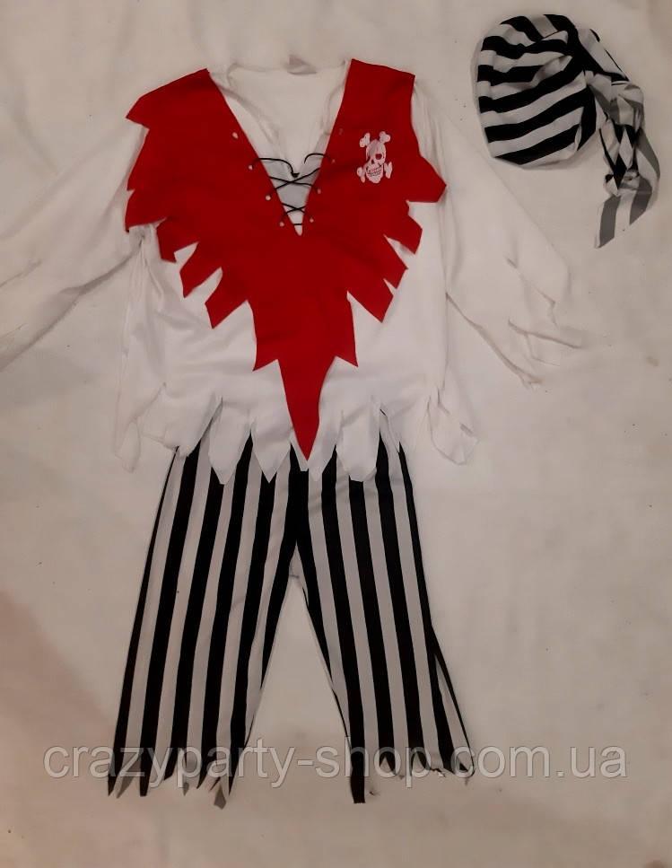 Костюм карнавальний Пірат 138-142 см б/у