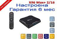 ТВ-приставка X96 Max + MAX Plus (2/16 Gb) 4-ядерная на Android 9.0