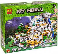 Конструктор Лего Майнкрафт Minecraft Горная пещера, 10735 BELA, 2886 деталей, аналог LEGO