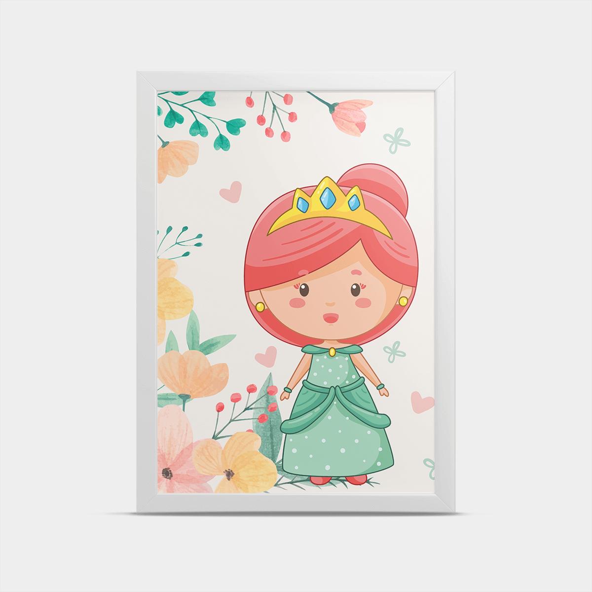 Постер Принцесса 30*40 см