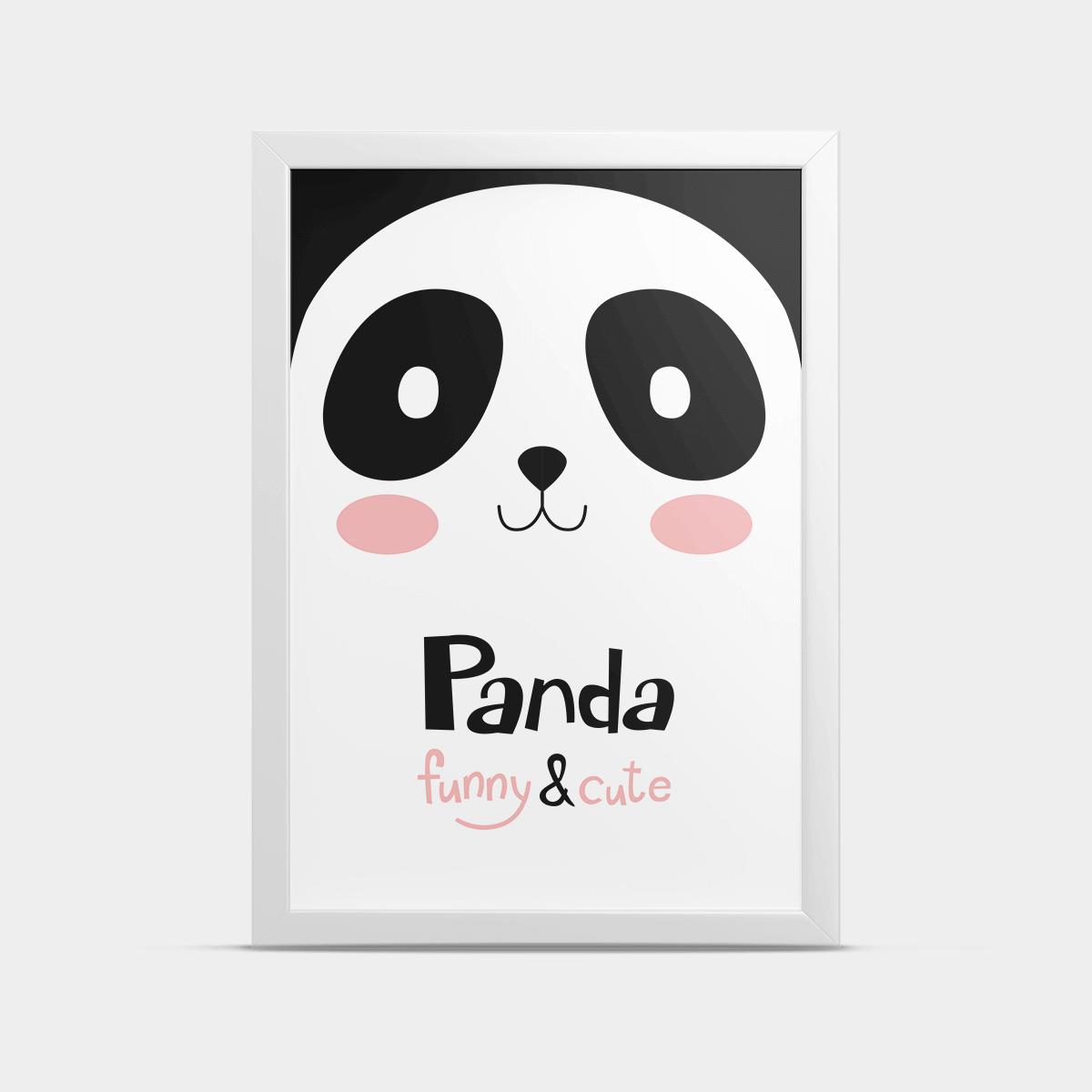 Постер на стену Большая панда 20*30 см