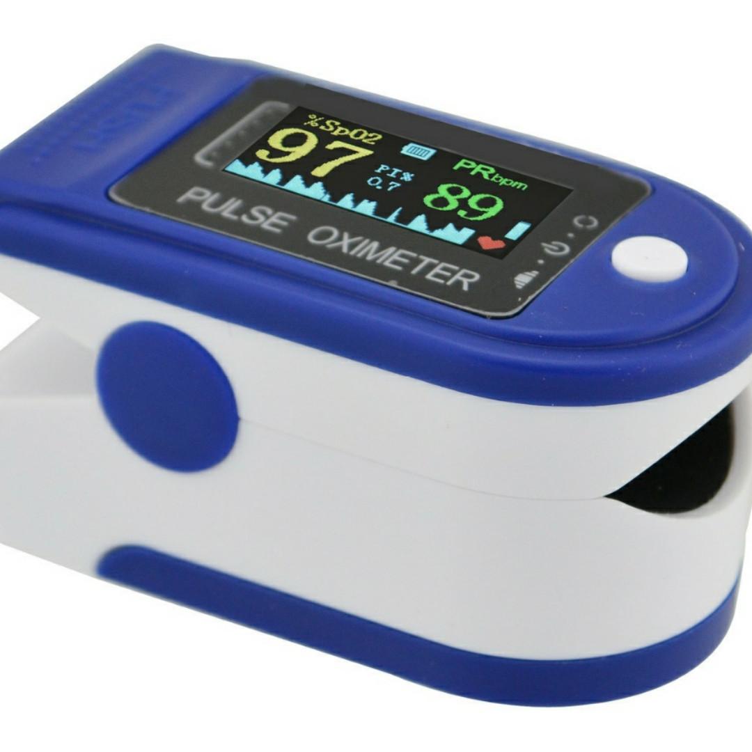 🔥 Пульсоксиметр пульсометр для измерения пульса Fingertip Pulse Oximeter