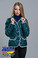 Женская куртка №8 (клетка)
