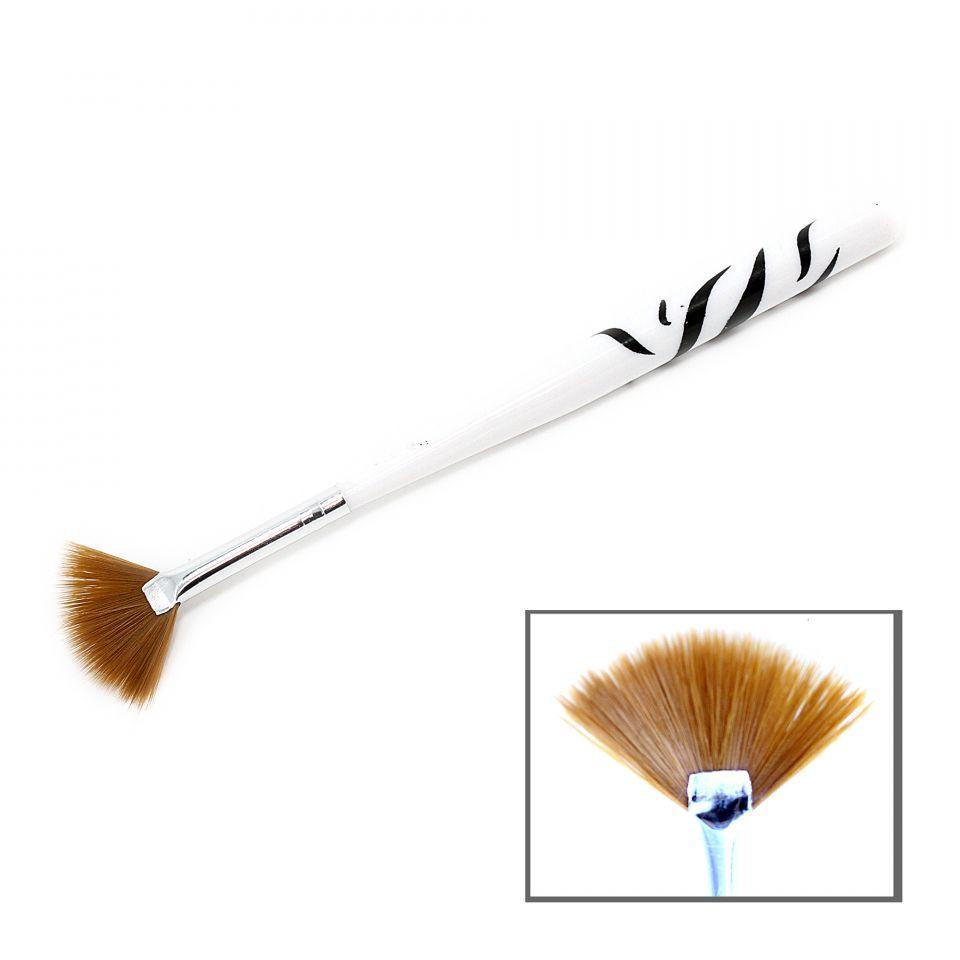 Кисть Nail Art Brush веерная