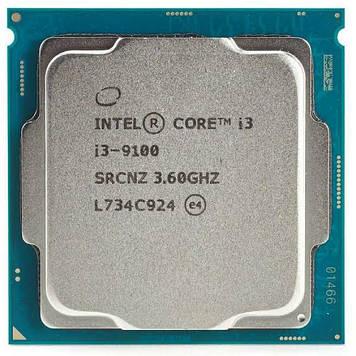 Процессор Intel Core i3-9100 3.6GHz/8GT/s/6MB (SRCNZ) s1151 V2 tray