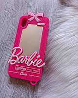 Чехол 3D для iPhone X Барби Barbie розовый, фото 1