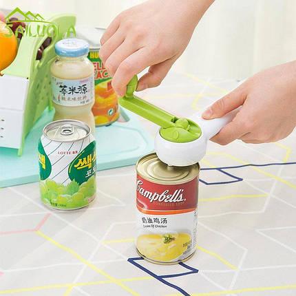 Универсальная открывалка Kitchen CanDo 8-in-1 | Открывашка консервных банок Китчен КэнДо | Консервный нож, фото 2