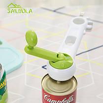 Универсальная открывалка Kitchen CanDo 8-in-1 | Открывашка консервных банок Китчен КэнДо | Консервный нож, фото 3