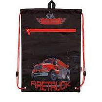 Сумка д / обуви с карманом KITE 601M-5 Firetruck (1)