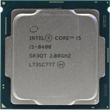 Процессор Intel Core i5-8400 2.8GHz/8GT/s/9MB (SRCNZ) s1151 V2, tray