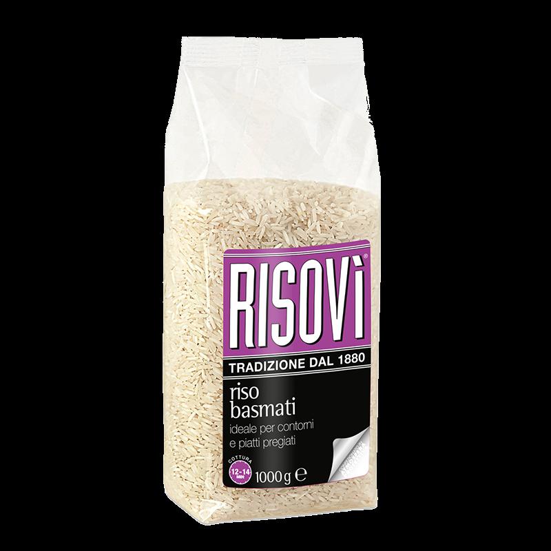 Рис Risovi Riso Basmati, 1000гр