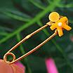 Булавка из желтого золота для мальчика - Золотая булавка для мальчика, фото 6
