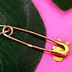 Булавка из желтого золота для мальчика - Золотая булавка для мальчика, фото 2