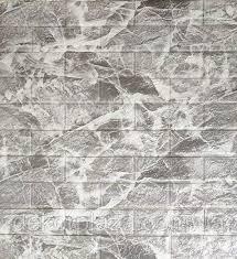 Самоклеющаяся декоративная кирпичная 3D панель 700x770x5мм
