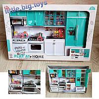 Кухня для барби, мебель для барби, мебель для куклы