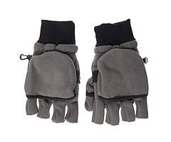 Перчатки флисовые Flagman Gray L