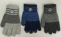 Перчатки Двойные для мальчика ТМ Корона!