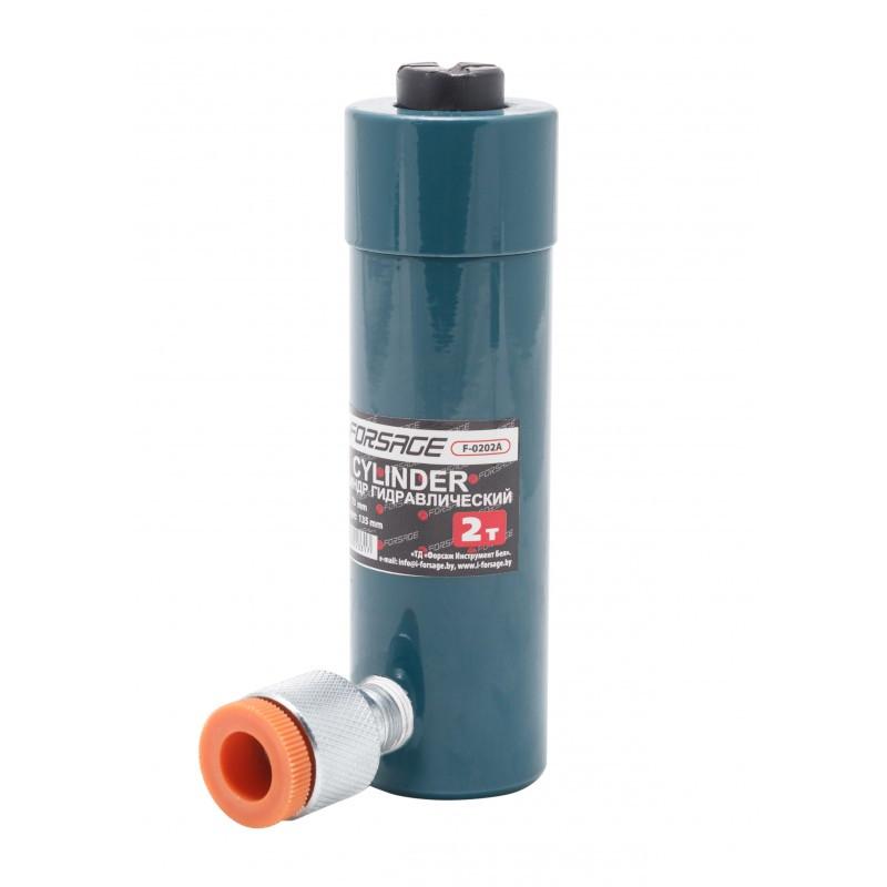 Цилиндр гидравлический Forsage 2т (ход штока - 73мм, длина общая - 135мм)