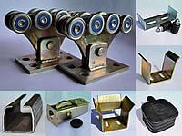 ROLLING HI-TECH 500М Комплект усиленной фурнитуры для откатных ворот, 500кг Комплект с трубой 6 метров