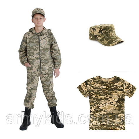Комплект детский Лесоход камуфляж Пиксель, фото 2
