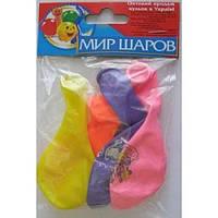 Набор воздушных шариков МИР ШАРОВ 131 Четыре слоя 4шт / уп