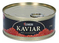 Икра лососевая красная Горбуши ТМ Lemberg 250 гр
