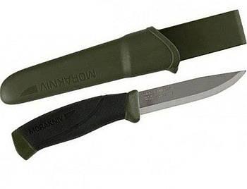 Нож MORA Morakniv Companion MG Stainless зеленый Military