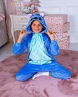 Пижама кигуруми Стич для детей и взрослых