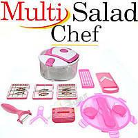 Універсальна овочерізка Multi Salad Chef Мульти Салад Чіф 13 в 1! Хіт продажів