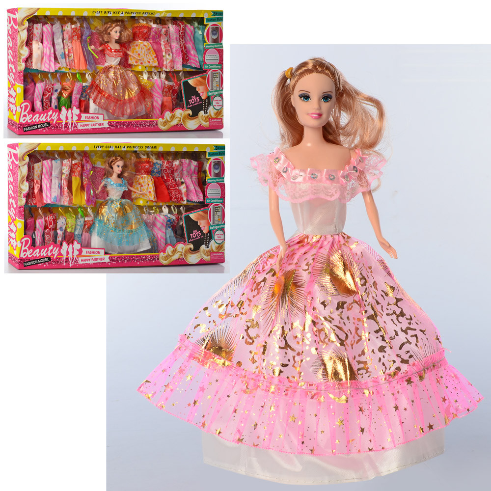 Кукла с нарядом 948A, 28 см
