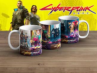 "Чашка Киберпанк 2077 ""Heroes""/ Cyberpunk 2077"