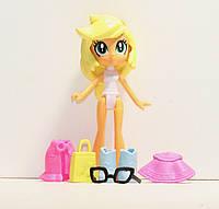 Набор кукол 4в1 Литл Пони, Девочки из Эквестрии со съемной одеждой и аксессуарами 10 см ALMA-14-261046