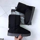 Угги женские черные 948, фото 2
