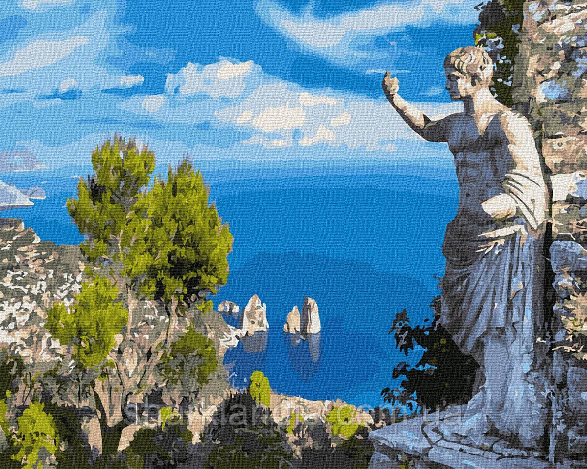 Античный взгляд на залив 40*50см Brushme Картина по номерам