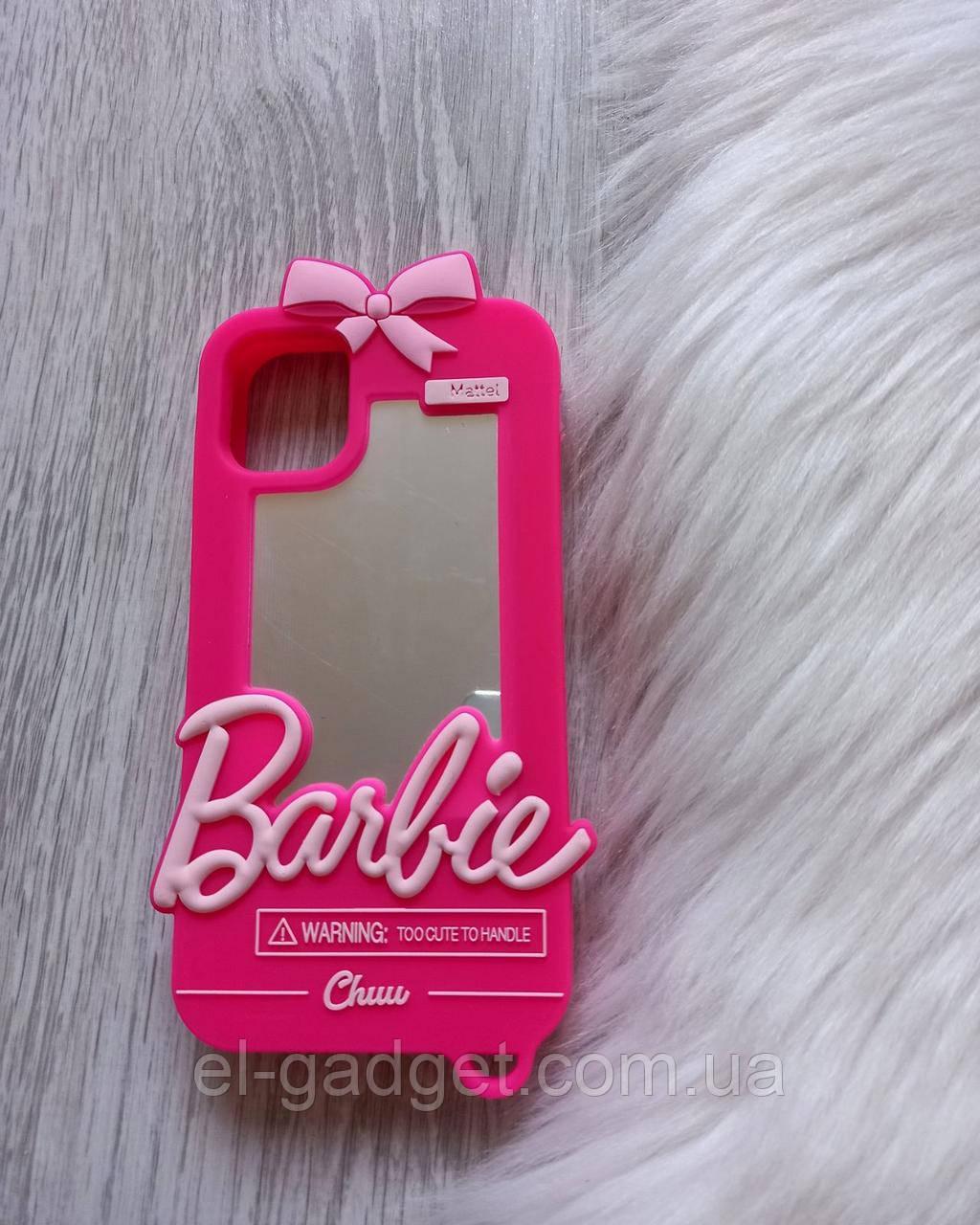 Чехол 3D для iPhone 11 Барби Barbie розовый