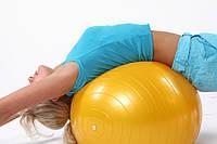 Гимнастический Мяч для фитнеса PROFiT Ball 65 см M 0276 Фитбол! Хит продаж