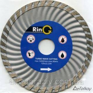Алмазный диск turbo 115 x 22 Ring