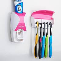 Диспенсер дозатор для зубной пасты и щеток автоматический ZGT SKY! Акция