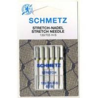 """Иглы Schmetz № 65 для эластичных тканей """"Stretch"""""""