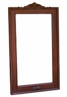 Деревянное зеркало из массива дерева