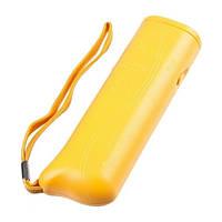 Ультразвуковой отпугиватель собак c фонарем AD-100 yellow! Лучшая цена