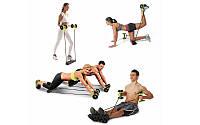 Тренажер для всего тела, пресса, рук, ягодиц REVOFLEX XTREME с 6 уровнями тренировки, без риска