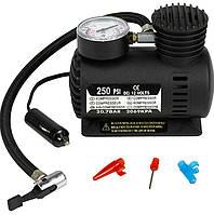 Автомобильный насос компрессор Air Compressor DC-12V / 250 PSI! лучшее качество