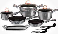 Набор кухонной посуды Berlinger Haus Moonlight Edition 14 предметов BH-6021
