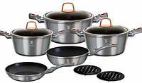 Набор кухонной посуды Berlinger Haus Moonlight Edition 10 предметов BH-6020