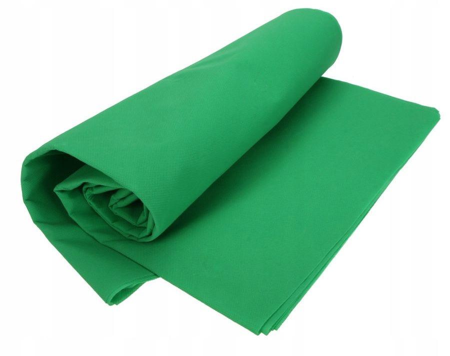 Фон тканевый хромакей 1.5м/3м Зеленый
